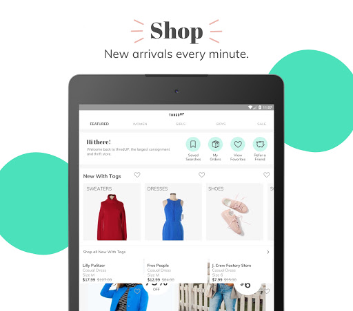 thredUP | Shop & Sell Women's & Kids' Clothing screenshot 8