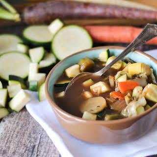 Cabbage and Winter Vegetable Soup.