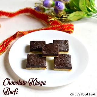 Chocolate Khoya Burfi