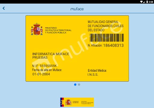 Muface Móvil screenshot 16