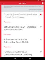 Screenshot of FERCHAU Job