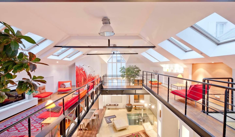 Appartement avec terrasse Paris 2ème