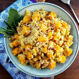 Roasted Butternut Squash Risotto.