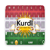 Kurdish Kurmanji Keyboard with Emoji