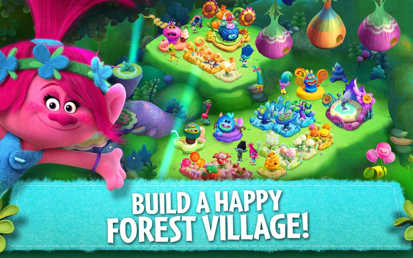 Trolls: Crazy Party Forest!- screenshot
