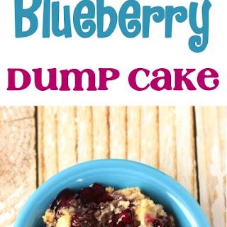 Crockpot Blueberry Dump Cake Recipe!.