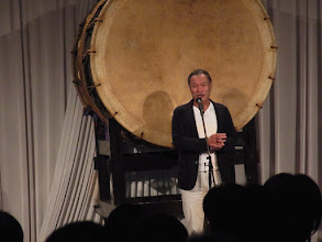 Photo: 山崎先生のオープニングスピーチ