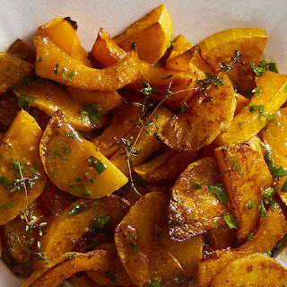 Spice-Roasted Butternut Squash with Cider Vinaigrette Recipe