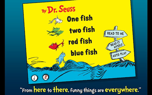 One Fish Two Fish - Dr. Seuss
