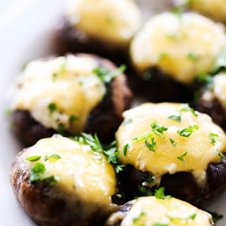 5 Cheese Stuffed Mushrooms.