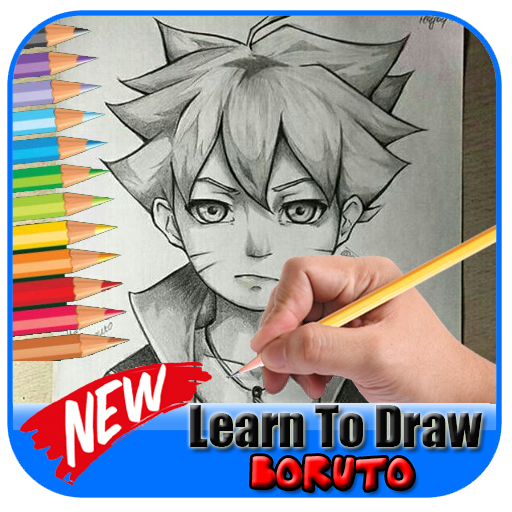 Learn to draw boruto
