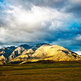 Mountain in the spring by Jeff T - Landscapes Mountains & Hills
