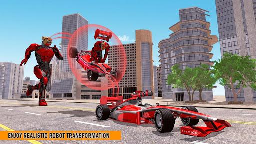 Cheetah Robot Car Transformation Formula Car Robot filehippodl screenshot 14