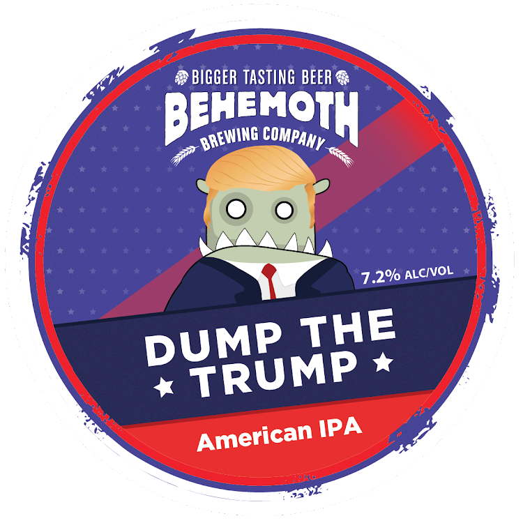 Logo of Behemoth Dump The Trump