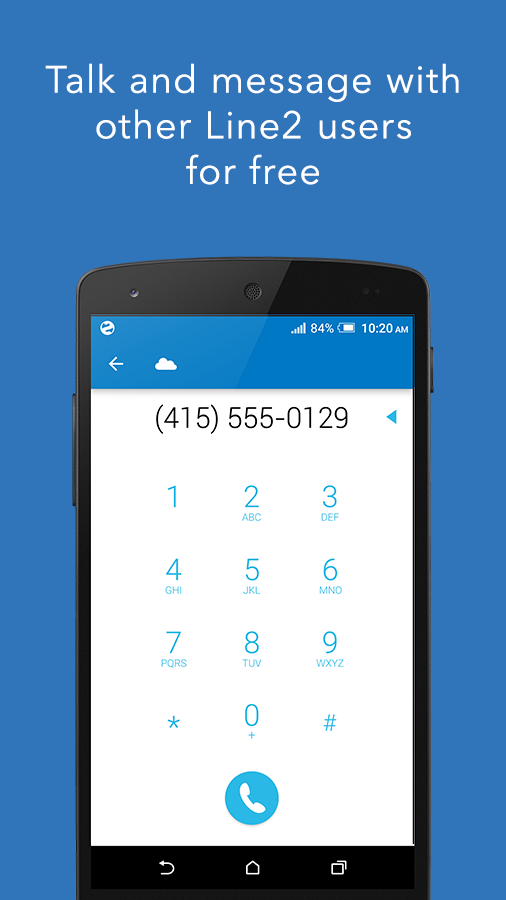 Line2 - Second Phone Number- screenshot