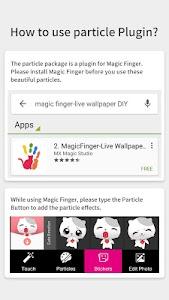 White Cat-Magic Finger Plugin screenshot 2