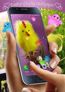 Easter Chicks Live Wallpaper - náhled