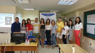 Participantes en el itinerario de promoción turística.