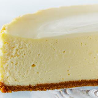 Classic New York Cheesecake.