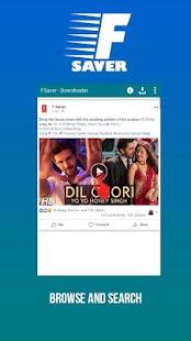 FSaver - Download Unlimited Videos - náhled