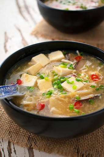 Clear Hot and Sour Soup