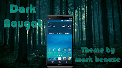 Dark Nougat Theme for LGV20/G5 1 0 5 latest apk download for Android