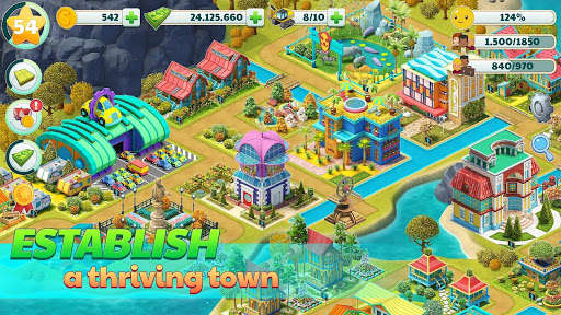 Town City - Village Building Sim Paradise Game 1.7.2 Cheat screenshots 2