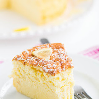 Lemon Souffle Cheesecake