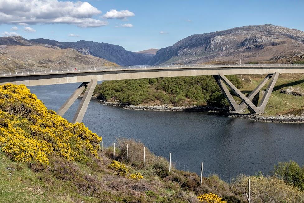 Most Kylesku, North Coast 500, Szkocja