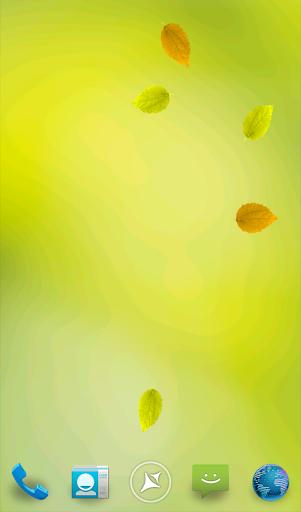 Leaves Live Wallpaper