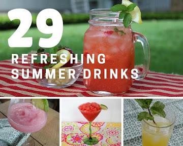 29 Refreshing Summer Drinks Recipe