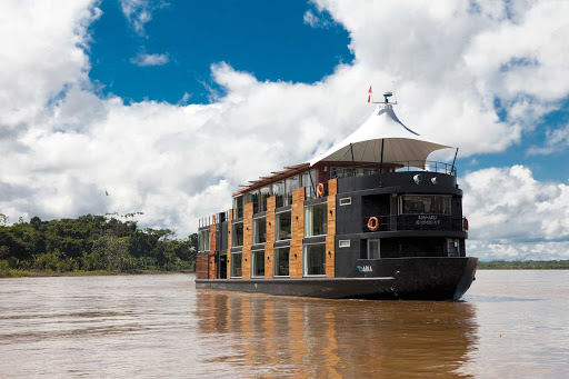 Aria-Amazon - Avalon Aria cruises the Amazon River.