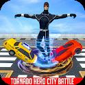 Light Hero Tornado Crime Battle icon