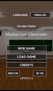 Escape Game Mysterious Classroom- screenshot thumbnail