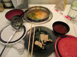 Photo: At the shabu-shabu restaurant