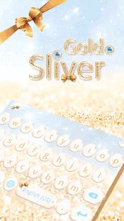 Gold-Sliver-Kika-Keyboard