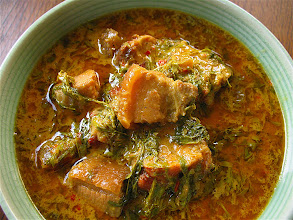 Photo: pork belly & young tamarind leaf curry