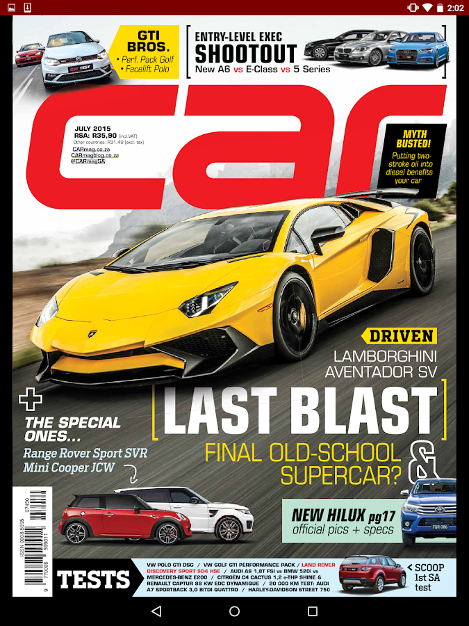 car magazine   android apps on google play