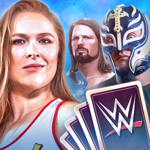 WWE SuperCard – Multiplayer Card Battle Game Icon