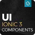 Ionic 3 Material Design UI Theme - Yellow Dark