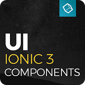 Ionic 3 UI Theme - Yellow Dark