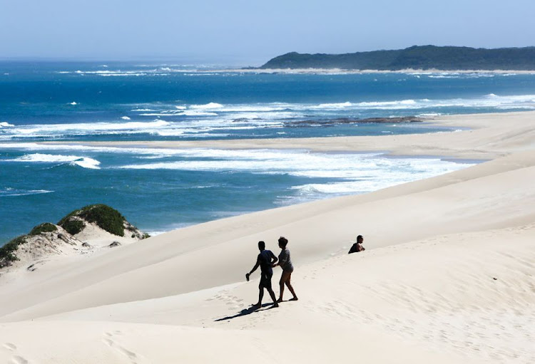 The sand dunes at Sardinia Bay are a natural gem