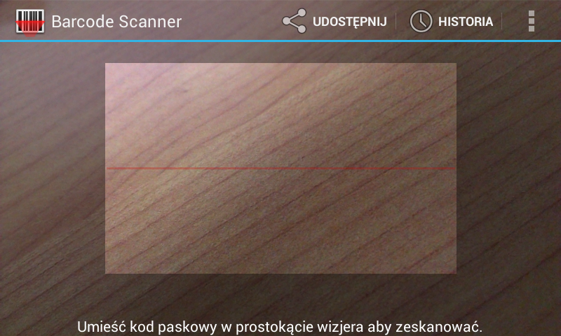 Скриншот Web Barcode