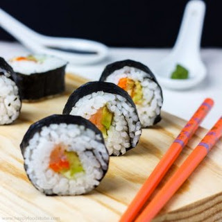 Homemade Sushi.