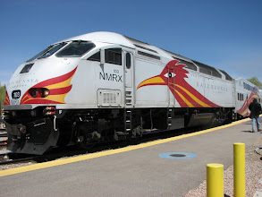 Photo: Santa Fe and Albuquerque are now connected by this high speed train.