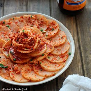 Kimchi White Radish