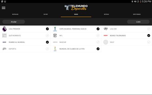Telemundo Deportes - En Vivo screenshot 8