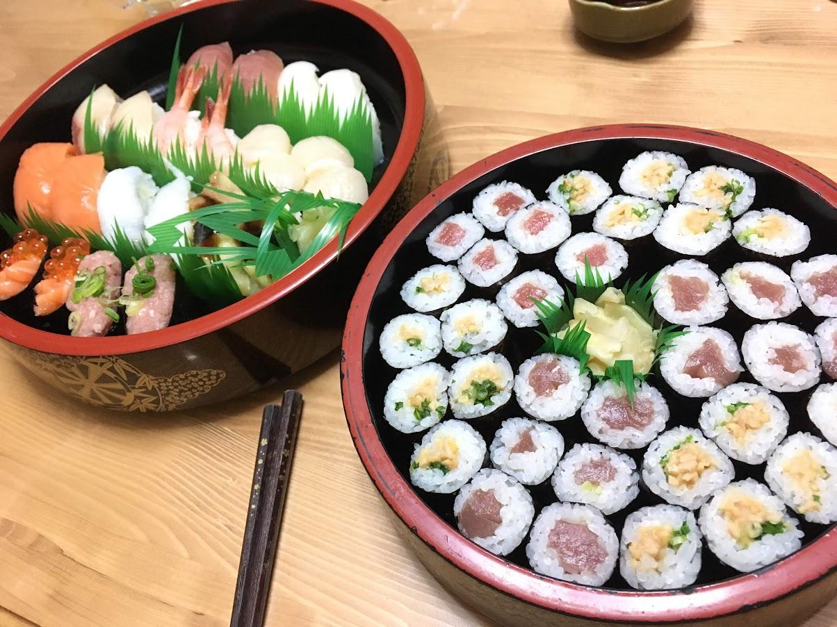 ひとりぼっち 宅配寿司 銀のさら
