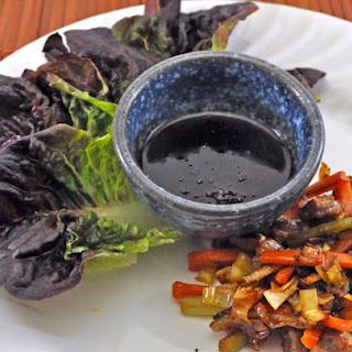 Stir-Fried Vegetable Lettuce Wraps
