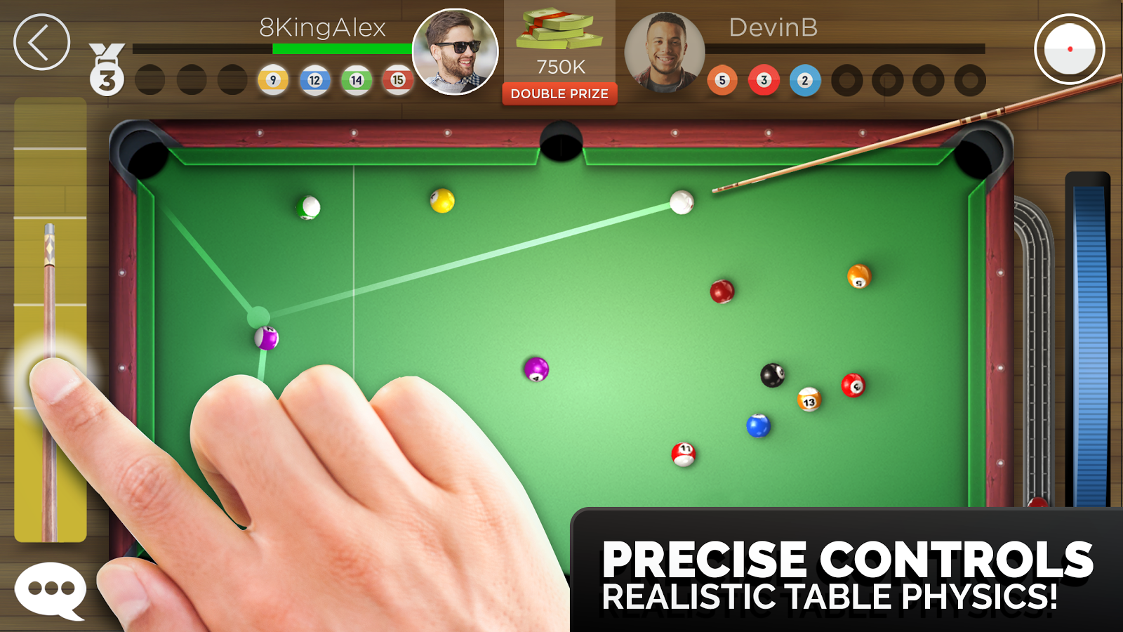 Kings of Pool - Online 8 Ball- screenshot